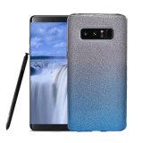Couverture hybride duelle protectrice à 3 couches de cas de dos de mobile de scintillement de Bling de mode pour la note 8 de galaxie de Samsung