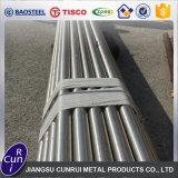 Tubo de acero inoxidable a dos caras 347 347H 317L 314 precio del tubo de 2205 2507 Inox