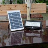 Indicatore luminoso di inondazione solare esterno del sensore di movimento 10W di vendita calda LED