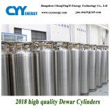 De China do oxigênio líquido do nitrogênio do argônio dos vasos Dewar cilindro 2018 de gás