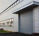 Industrial porte d'entrée, grande porte du rouleau d'aluminium