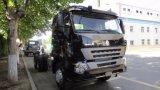 頑丈な10荷車引き6X4 420HP HOWO A7のトラクターのトラック