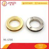 Хорошее качество моды Gold металлической монтажной петелькой детали одежды
