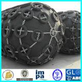 Defensa de goma marina neumática inflable
