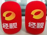 مصنع عالة إسفنجة ميكروفون تغطية مع طباعة علامة تجاريّة إسفنجة [ميك] كم