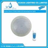 24W scaldano l'indicatore luminoso subacqueo bianco della piscina di 3000K 12V PAR56 LED