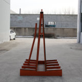 Стальные форма транспорта стекло Полка для монтажа в стойку