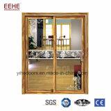 أثيوبيا ألومنيوم غرفة حمّام باب زجاجيّة ألومنيوم [سليد دوور] زجاجيّة