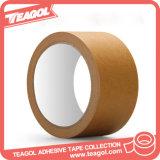 Cinta adhesiva coloreada cinta de goma del papel de Crepe del pegamento