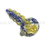 In het groot Amerika Van uitstekende kwaliteit kleurt de Lepels van de Pijp van de Hand van het Glas (S-PK-315)