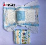 柔らかい通気性の漏出監視高い等級の使い捨て可能な赤ん坊のおむつ