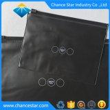 Impression noire personnalisé Ziplock sac en plastique transparente en PVC
