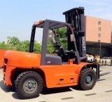 6 de Diesel van de ton Vorkheftruck Van uitstekende kwaliteit Diesel van 6 Ton Vorkheftruck met de Lage Prijs van de Verkoop van de Motor van Japan van het Onderhoud