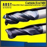 Flöte-flaches Enden-Tausendstel der Wolframfeste Karbid CNC-Ausschnitt-Hilfsmittel-4