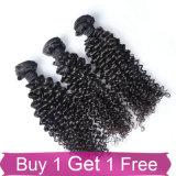 Recevoir la prolonge de cheveu de Remy du cheveu 100 de vente en gros d'usine de Paypal