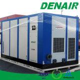 50 HP 교류 전원 저잡음 정지되는 기름을 바른 나사 유형 공기 압축기