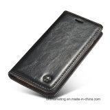 Наградное iPhone x аргументы за бумажника кожи качества