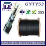 L'enterrement direct G652D Câble en fibre optique monomode (GYTY53)