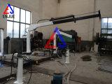 Völlig hydraulische Krümmer-Knöchel-teleskopische Hochkonjunktur-Marineplattform-Kran
