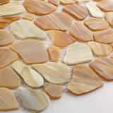 内部のための装飾的なガラスモザイク・タイルに床を張る建築材料