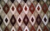 Tela de Upholstery geométrica do Chenille de Colômbia (fth31891)
