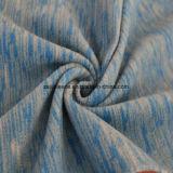 陽イオンの印刷の効果のマイクロ羊毛、ジャケットファブリック青い星状体)