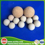 Bolas de cerámica inertes como el catalizador y llenador