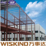 Diseño económico rentable la estructura de bastidor de acero para la industria