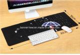 Impression estampée polychrome faite sur commande lavable de couvre-tapis de souris de suède