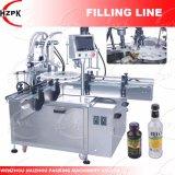 Rotativa automática Máquina de Llenado y Tapado para líquido y pegar