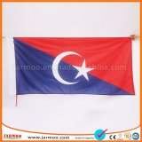 Grand amateur de sport Football Flag avec la taille 90X150cm
