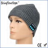 Chapeau sans fil de musique de Bluetooth éliminé par Knit (XH-BH-001)
