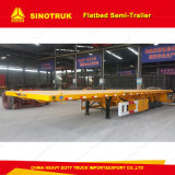 직업적인 반 공급 콘테이너 운송업자 평상형 트레일러 트레일러 20/40FT