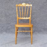 Rei de alumínio dourado Cadeira do casamento no evento do partido da venda (YC-A08G-01)