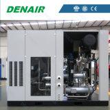 中国の工場価格の二重段階オイル自由なねじ空気圧縮機の製造業者
