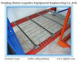 Racking do armazenamento do armazém do Decking do engranzamento de fio