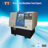 Механический инструмент Lathe малого размера CNC подгонянный точностью горизонтальный