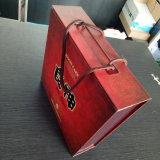 Emballage Alimentaire de haute qualité OEM Square boîte cadeau avec poignée de ruban
