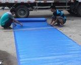 Tampa plástica da piscina da bolha de uma espessura de 400 mícrons