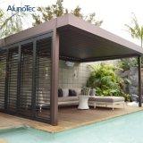Pérgola Louvered motorizada modificada para requisitos particulares de la cubierta de la lluvia para el balcón