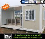 Wellcamp 편평한 팩 콘테이너 집 사치품 유형