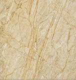 600X600内部のフロアーリングのための白い大理石の光沢のある艶をかけられた磨かれた磁器のタイル