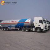 Трейлер бака LPG ДОЛГОТЫ топливозаправщика хранения изготовления кисловочный