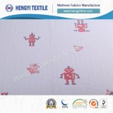 Le carton 100 % polyester Tissus matelas