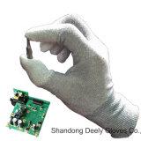De antistatische Handschoenen van de Inspectie van het Uiteinde van de Vinger Pu Met een laag bedekte