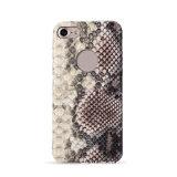 Cubierta de cuero serpentina de la caja del teléfono celular de la PU de la manera para el iPhone 6/7/8plus