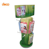 Signal Pop Quality Retail Floor-Standing Display Rack with Hooks