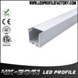 Aluminium léger linéaire pendant d'extrusion de profil de 4206 DEL avec RoHS