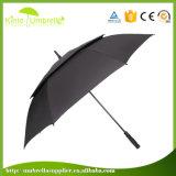 Parapluie superbe de golf de tempête de qualité grand protégeant du vent pour la publicité