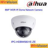 Dahua屋外WDR H. 265の4KドームIPの保安用カメラIpcHdbw5831e Ze